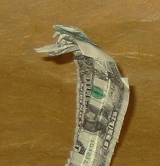 dollar bill cobra